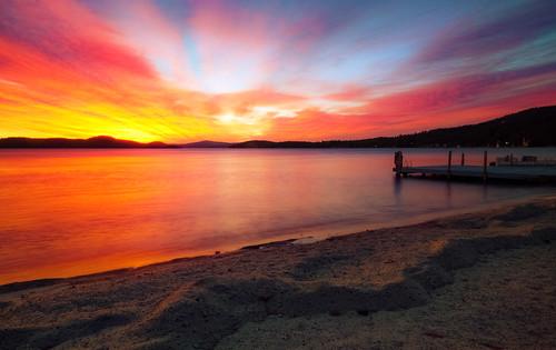 sky lake water sunrise day newengland newhampshire nh lakewinnipesaukee robertallanclifford pwpartlycloudy robertallancliffordcom