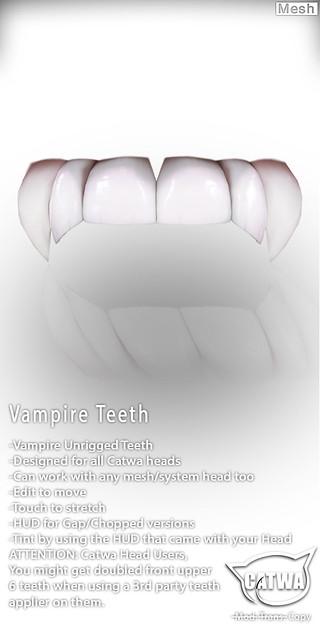 CATWA Vampire Teeth