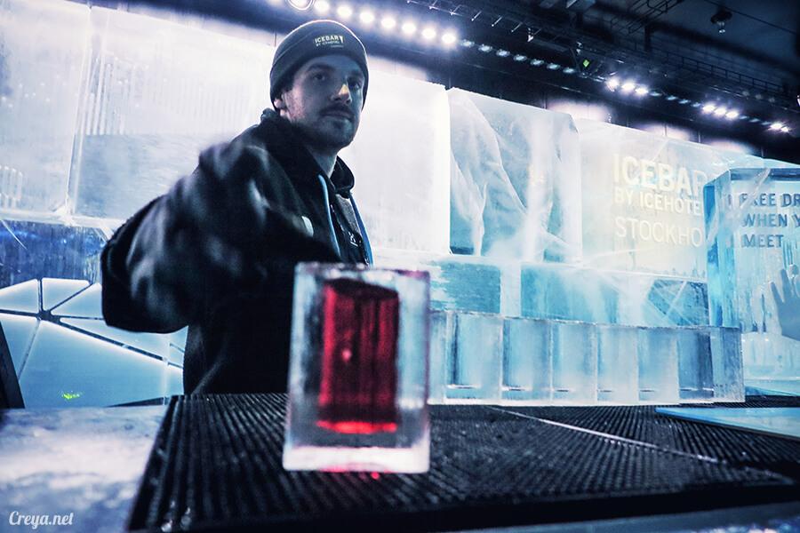 2016.03.24 ▐ 看我歐行腿 ▐ 斯德哥爾摩的 ICEBAR 冰造酒吧,奇妙緣份與萍水相逢的台灣鄉親破冰共飲 16.jpg