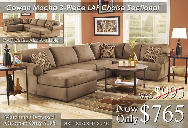 Cowan 3 piece Sectional
