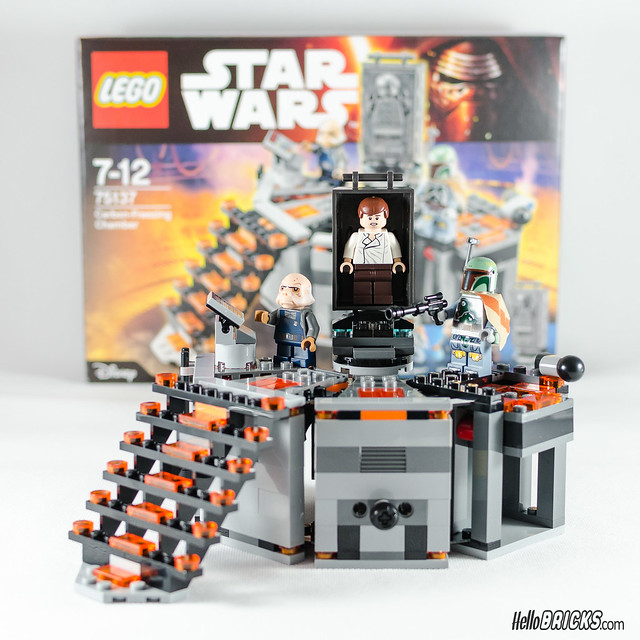 REVIEW LEGO Star Wars 75137 Carbon-Freezing Chamber 25 (HelloBricks)