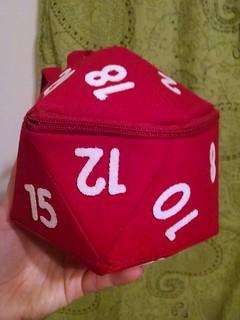 d20 bag