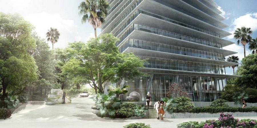 Небоскребы в Майами Twisted Towers
