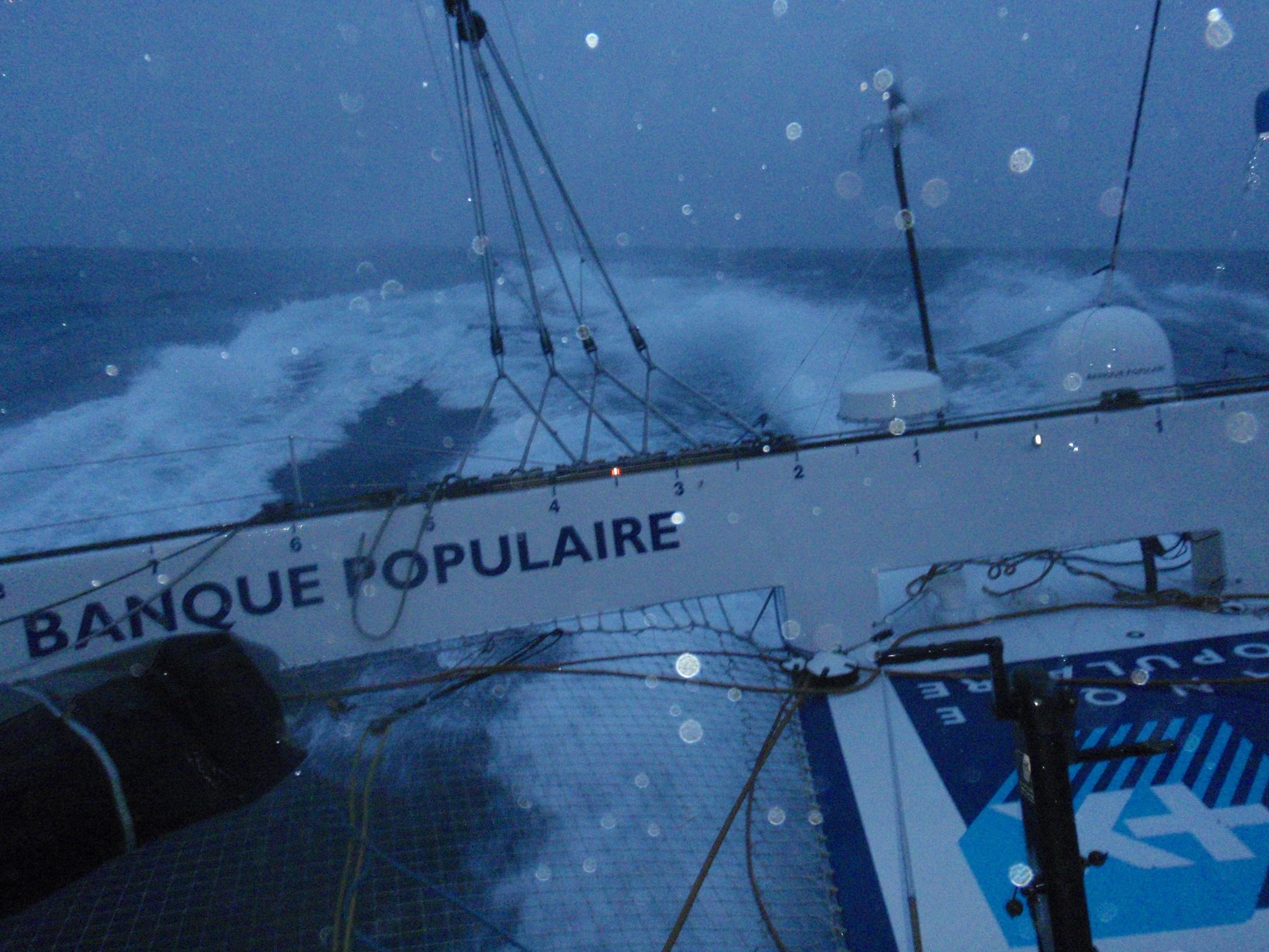 Photo envoyee du bord  Jour 23 - 16122011 - BPCE