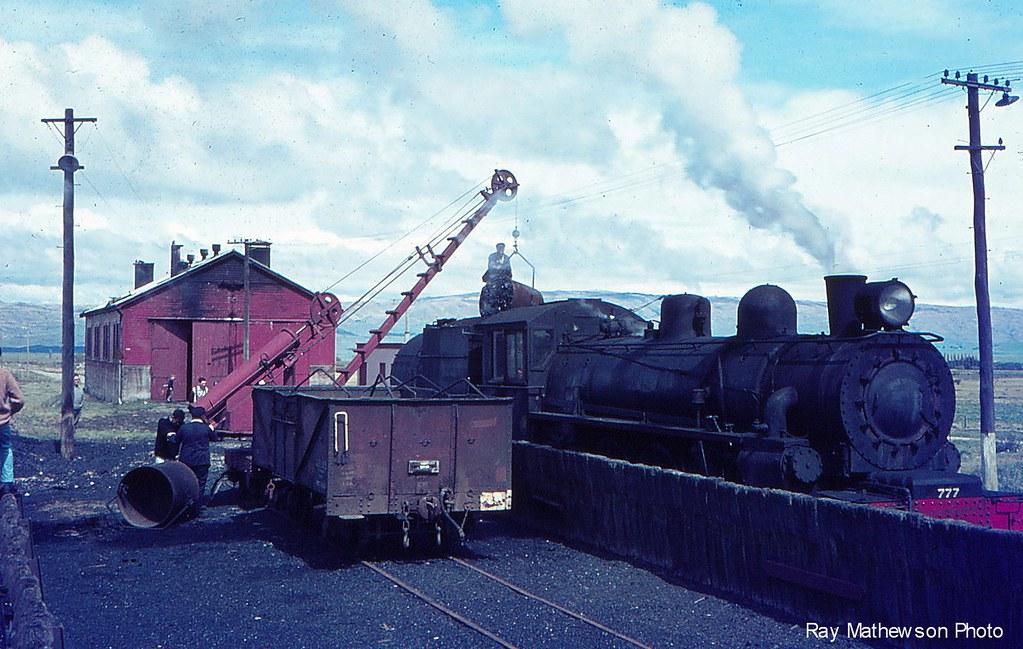 Ranfurly loco depot.