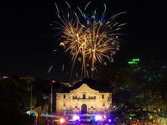 Fiesta Fireworks Over the Alamo