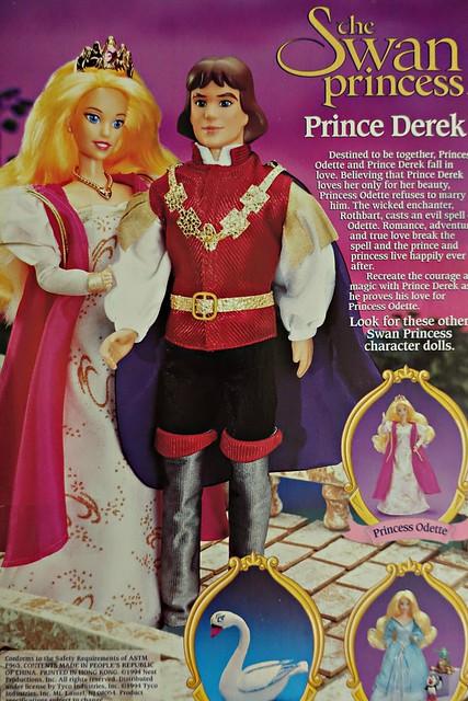 the back of prince derek's box