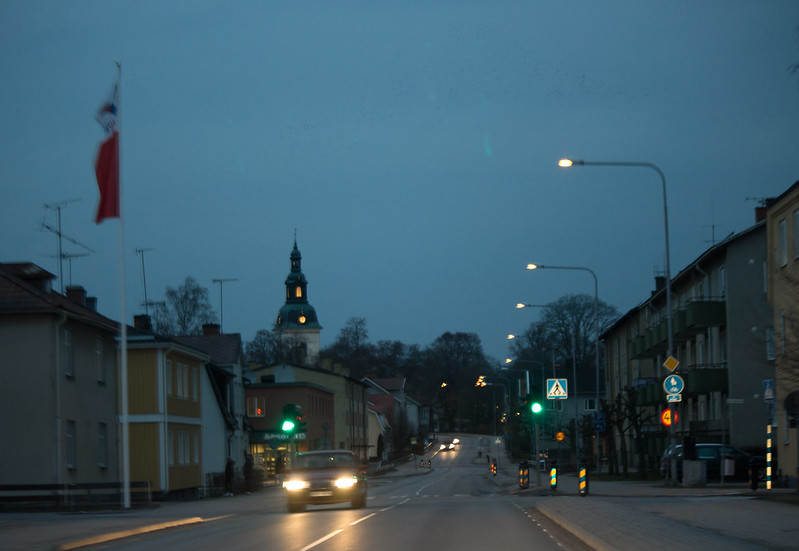 Vingåker by Night