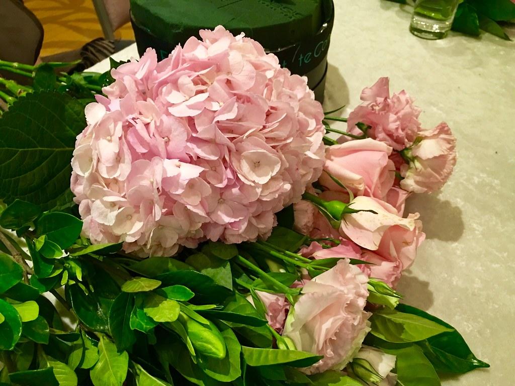 20160423 台北六福皇宮 Elite Concept 花藝教室 丹耶澧義大利餐廳