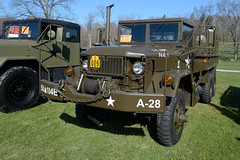 Military Transport Association show at the Sussex County Fairgrounds (NJ) in April 2016