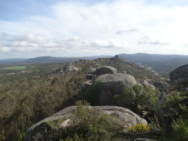 Vistas desde la Torre da Moa en Laxe