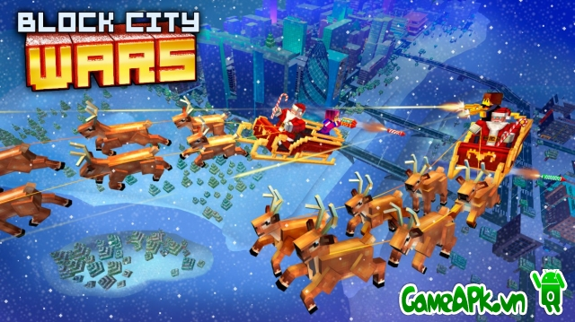 Block City Wars v4.2.2 hack full cho Android