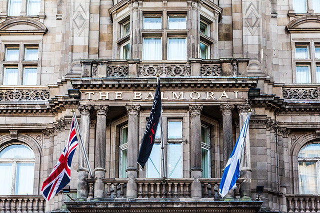 The Balmoral Edinburgh #夢見た英国文化