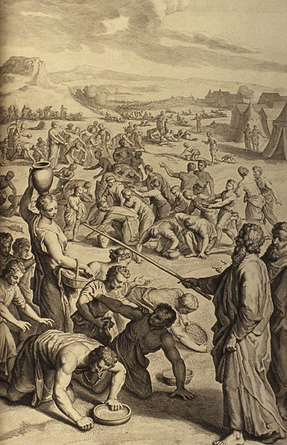 Figures_The_Israelites_Gather_Manna_in_the_Wilderness