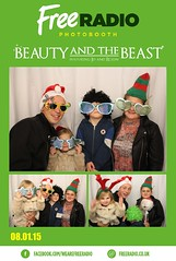 Belgrade Theatre Beauty and The Beast Photobooth