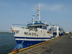 Trawler WŁA-312 in Wladyslawowo