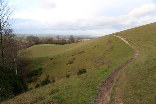 View from Beacon Hill near Ellesborough
