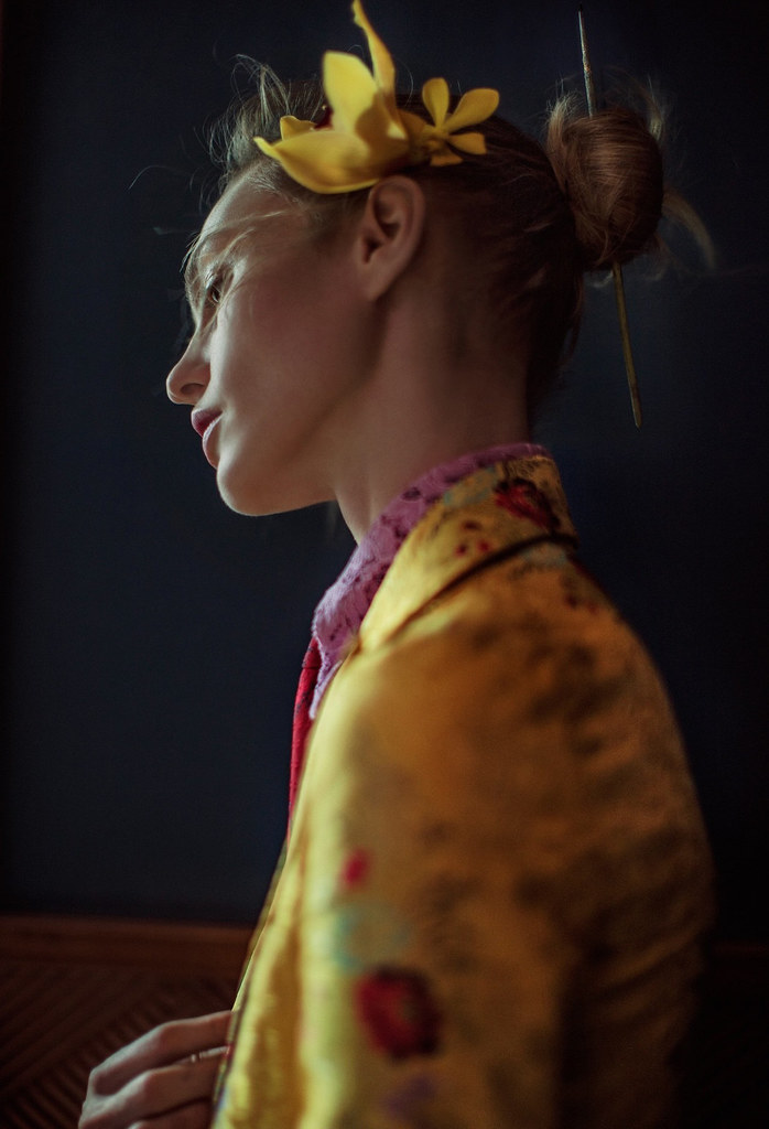 Саша Пивоварова — Фотосессия для «Vogue» CH 2016 – 5