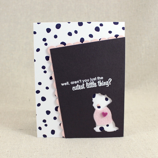 New Puppy Card