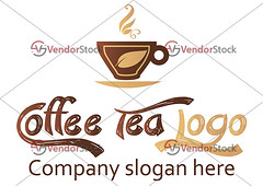 Coffee and tea logo design