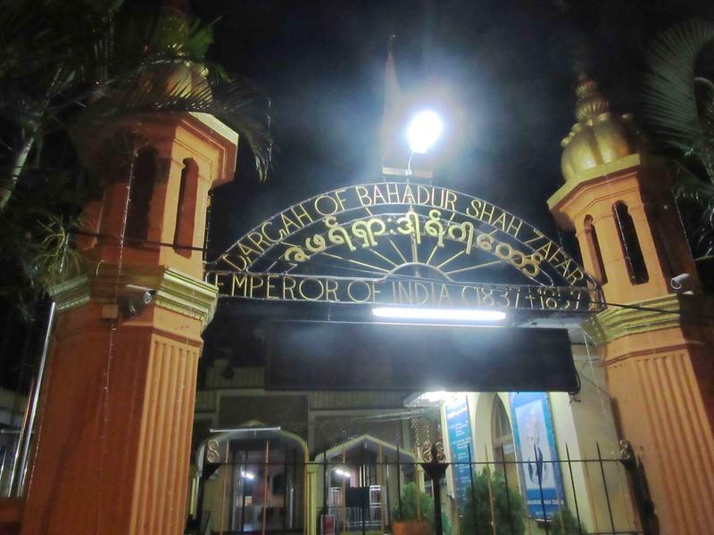 Letter from Yangon - Bahadaur Shah Zafar's Tomb, Near Shwedagon Pagoda