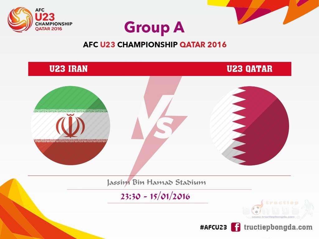 U23 Iran vs U23 Qatar