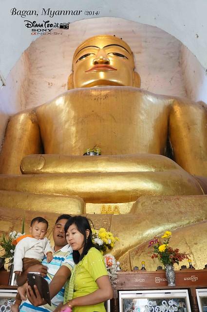 Day 2 Bagan - Manuha Phaya 02