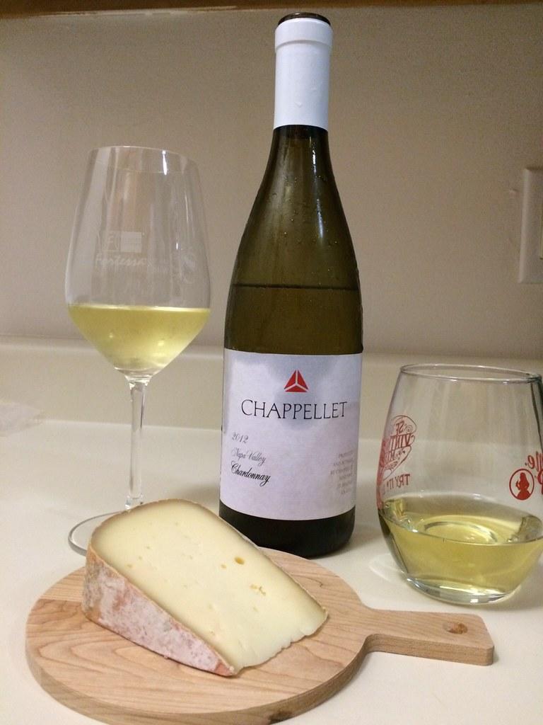 2012 Chappellet Chardonnay and Gabietou 1