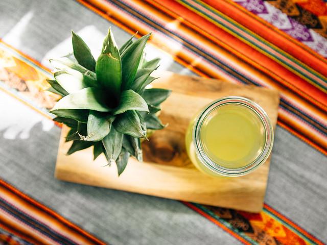 Pineapple (scrap) water