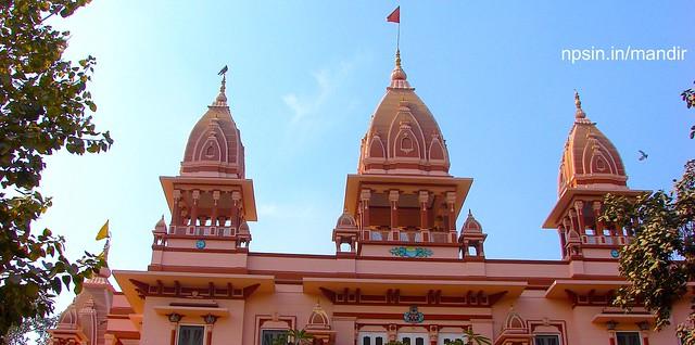 श्री सत्यनारायण जी का मंदिर (Shri Satyanarayan Ji Ka Mandir) dedicated to Lord Satyanarayan Ji near Civil Lines metro station.