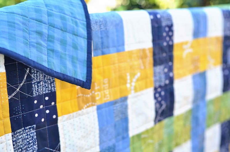 woven baby quilt-Edit