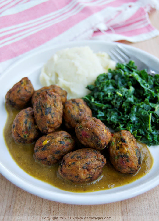 Ikea veggie balls chow vegan for Ikea vegetable balls