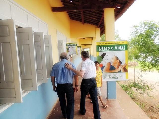 Comunidade do Sítio Varas recebe Caravana do Programa Útero é Vida