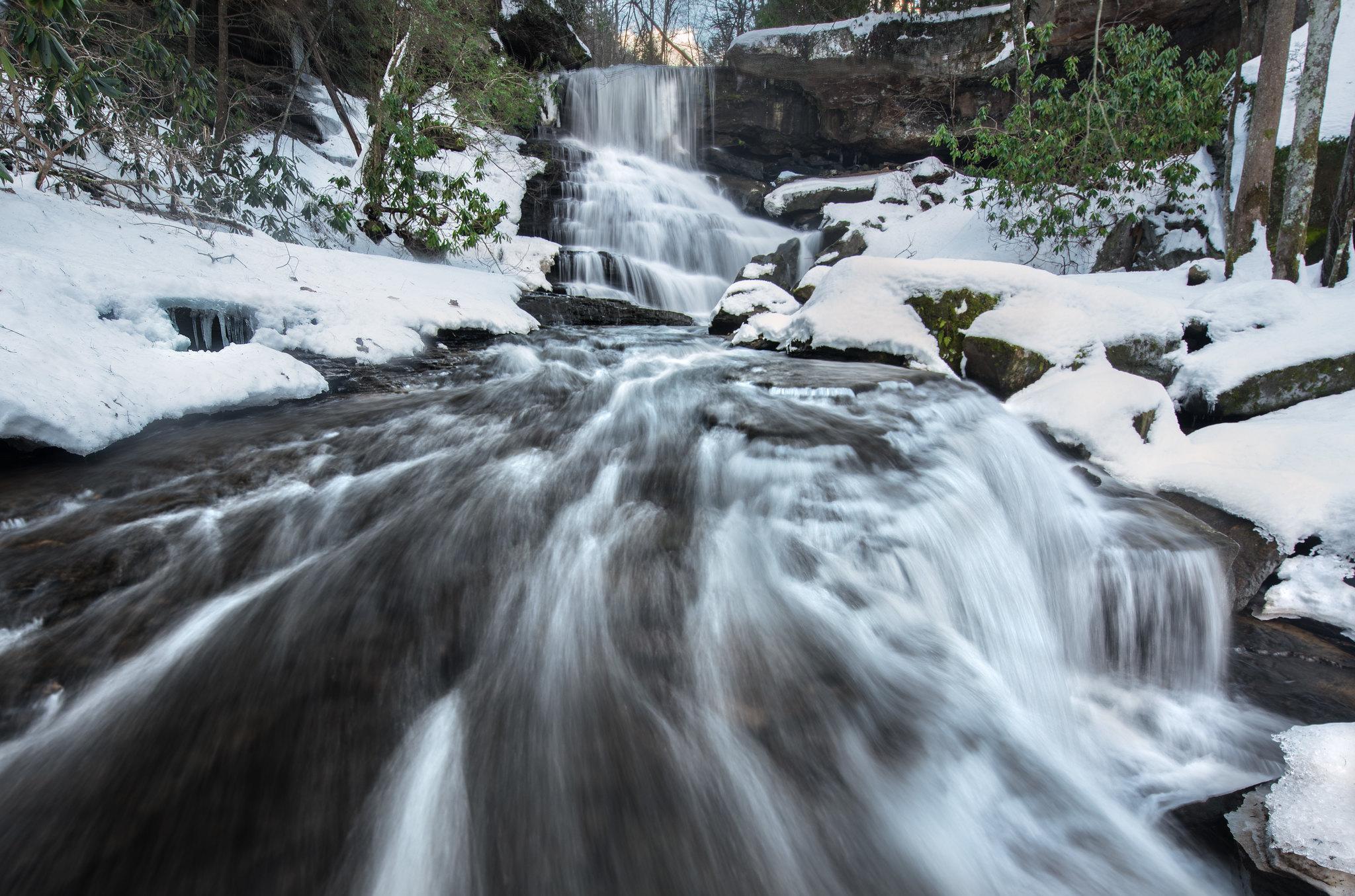 Laurel Creek, West Virginia [2048x1355]