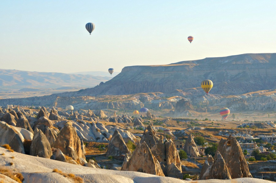 There are ample opportunities for hiking in Cappadocia