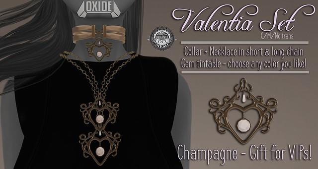 OXIDE Valentia for VIP