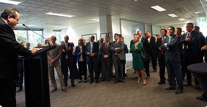 Navantia refuerza su presencia en Australia con la nueva oficina de Canberra