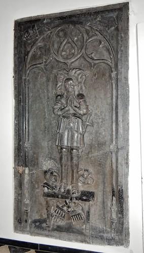 ca. 1500-1515 - 'jonkheer Lybrecht van Meldert, Lord of Meldert, Budingen, Vrolingen and Bombroek (+1484)', Sint-Ermelindiskerk, Meldert, Hoegaarden, province of Flemish Brabant, Belgium