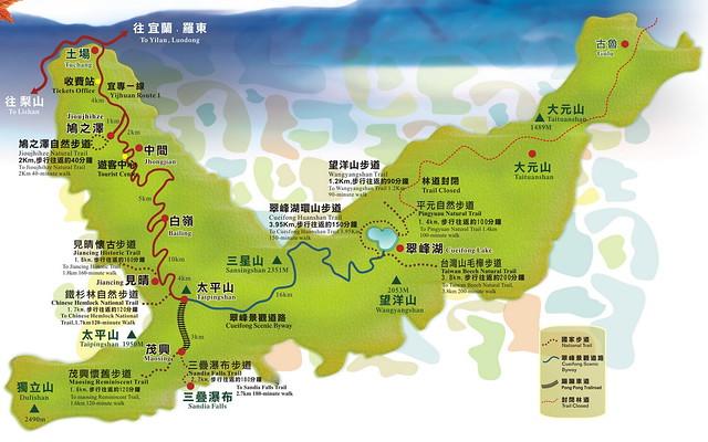 太平山地圖