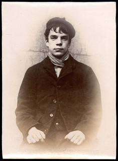 Edwin Frankland, steamboatman, arrested for breaking into a house