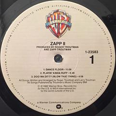 ZAPP:II(LABEL SIDE-A)