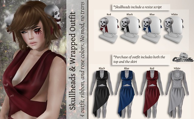 Caboodle - Skullheads & Wrapped Outfit @Whimsical