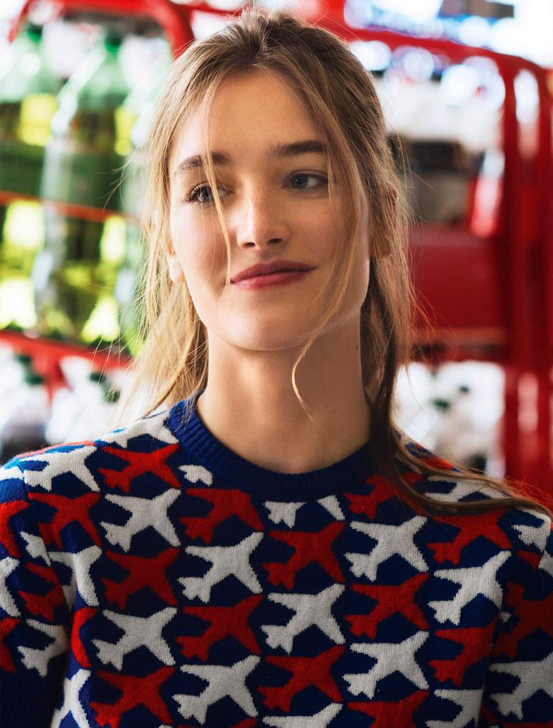 Жозефин Ле Тутур — Фотосессия для «Glamour» FR 2016 – 24