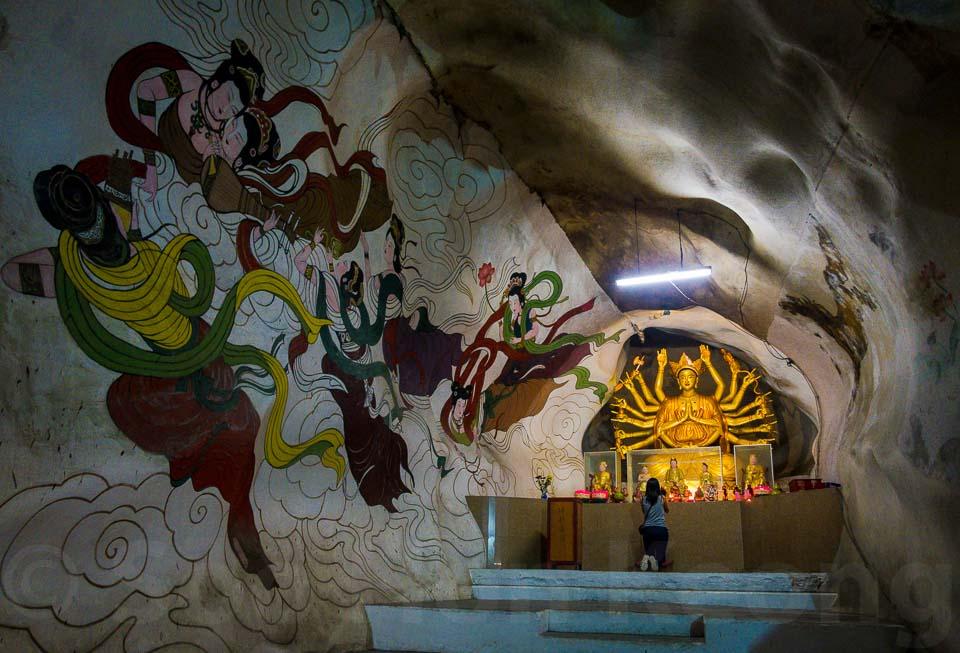 Perak Tong Cave Temple @ Ipoh, Malaysia