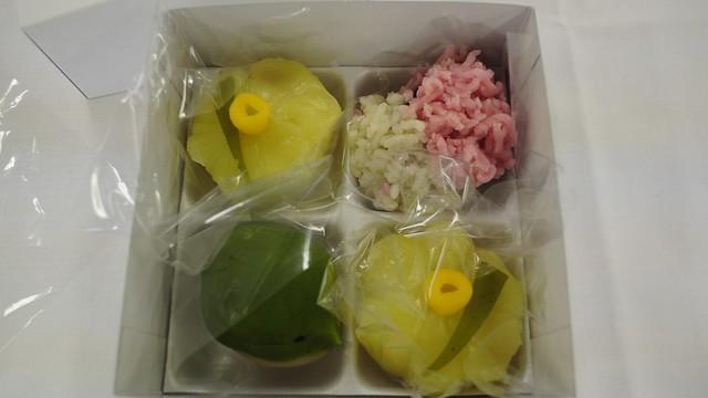 自作の和菓子