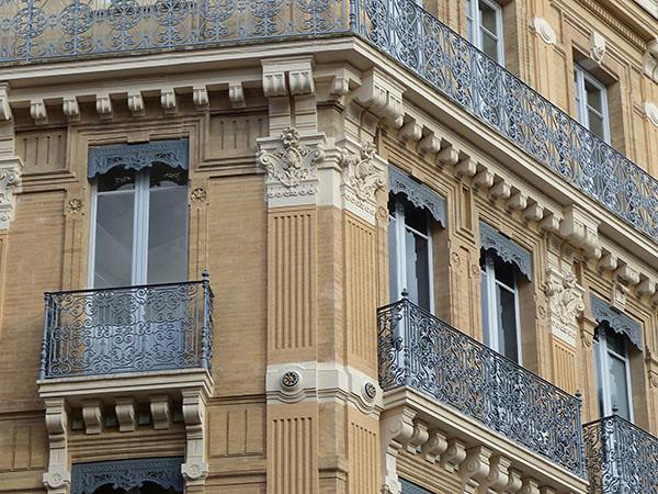 corniche et balcons