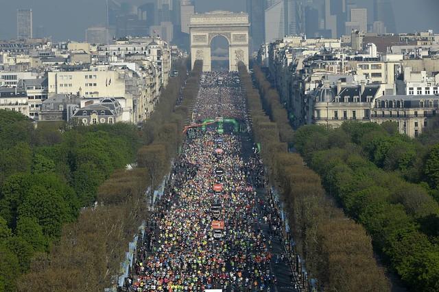 Maratón de Paris 2015