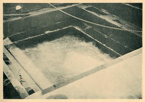 Hervideros de Fuensanta: Gran hervidero, fondo de la piscina