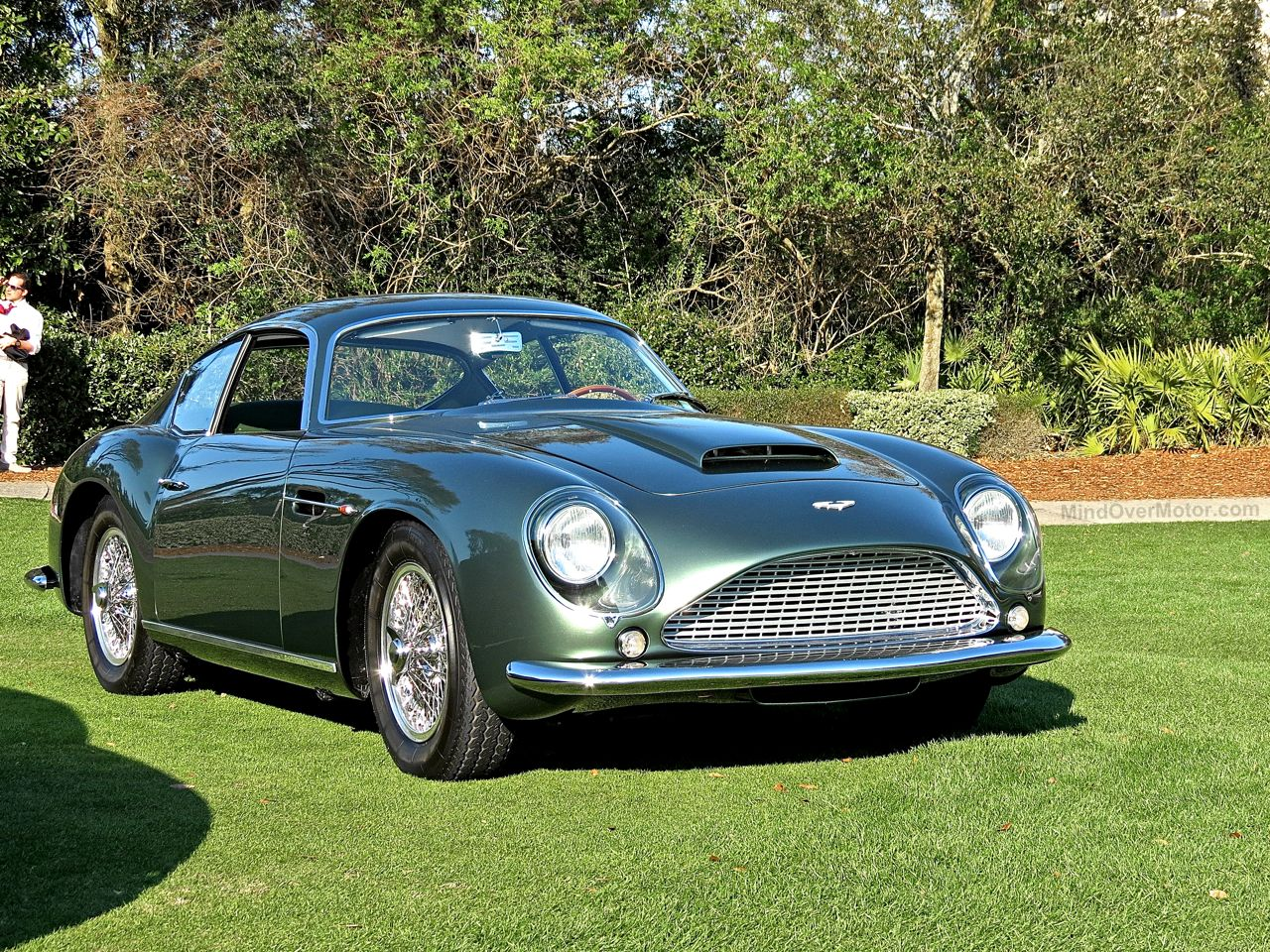 Aston Martin DB4 GT Zagato Amelia Island 1