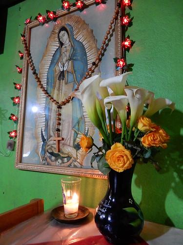 San Jose del Pacifico - Maria bij ons aan tafel